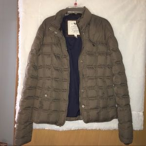 Abercrombie and Fitch Brown Winter Coat